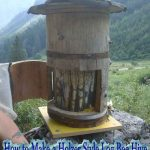 How to Make a Holzer Style Log Bee Hive