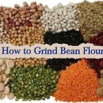 How to Grind Bean Flour