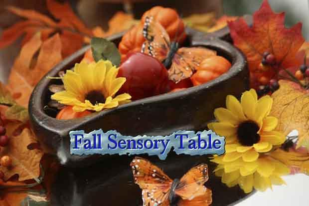 Fall Sensory Table