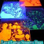 Lava Lamp Sensory Bags