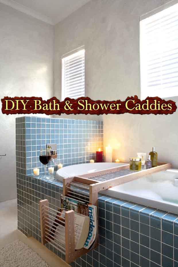 DIY Bath/Shower Caddies - Lil Moo Creations
