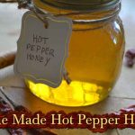 Home Made Hot Pepper Honey