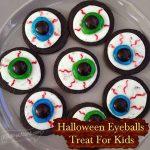 Halloween Eyeballs Treat For Kids