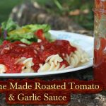 Home Made Roasted Tomato & Garlic Sauce