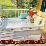 21 DIY Re purpose Old Door Ideas
