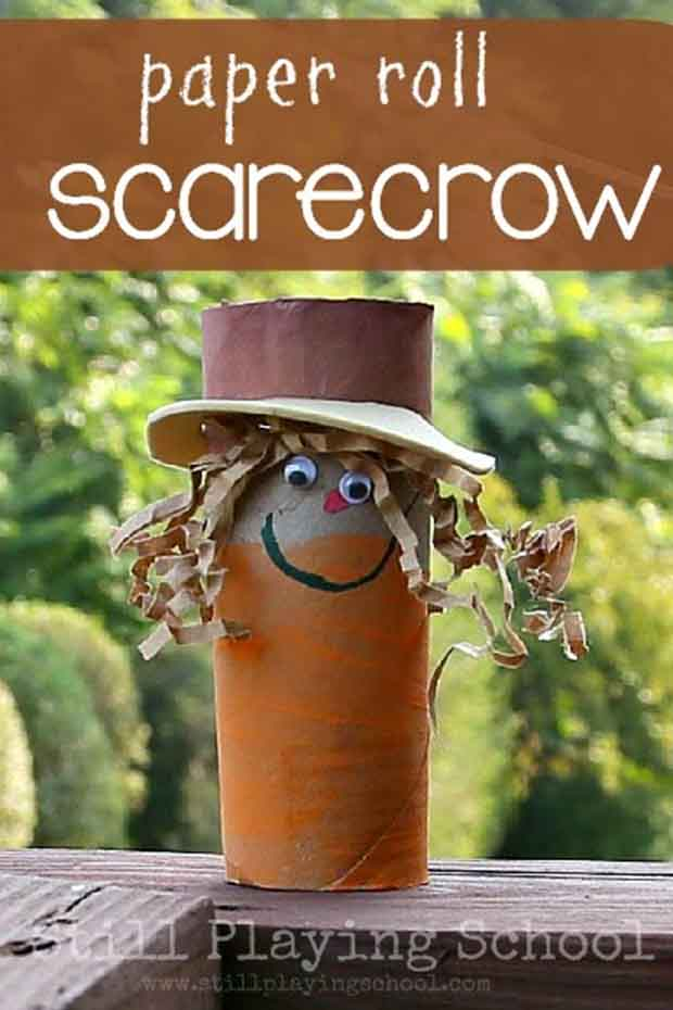 paper-roll-scarecrow