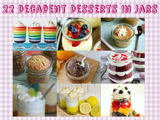 22 Decadent Desserts In Jars