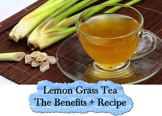 Lemon Grass Tea - The Benefits + Recipe - Lil Moo Creations