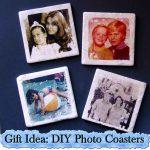 Gift Idea: DIY Photo Coasters