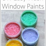 DIY Window Paint Recipe