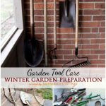 Winter Garden Prep: Tool Care
