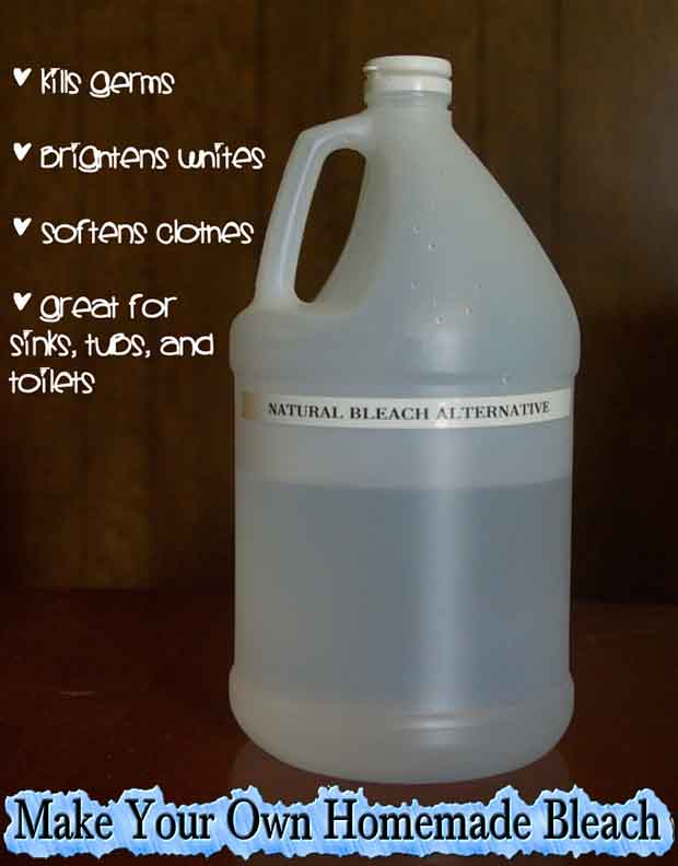 Make Your Own Homemade Bleach Lil Moo Creations