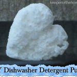 DIY Dishwasher Detergent Pucks