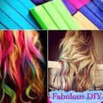 Fabulous DIY Hair Chalk