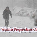 Winter Weather Preparedness Checklist