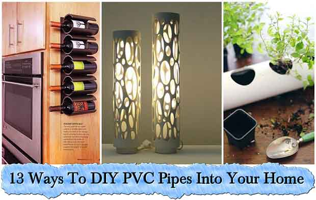 Ways To DIY PVC Pipes Into Your Home Lil Moo Creations - Diy pvc pipe projects home