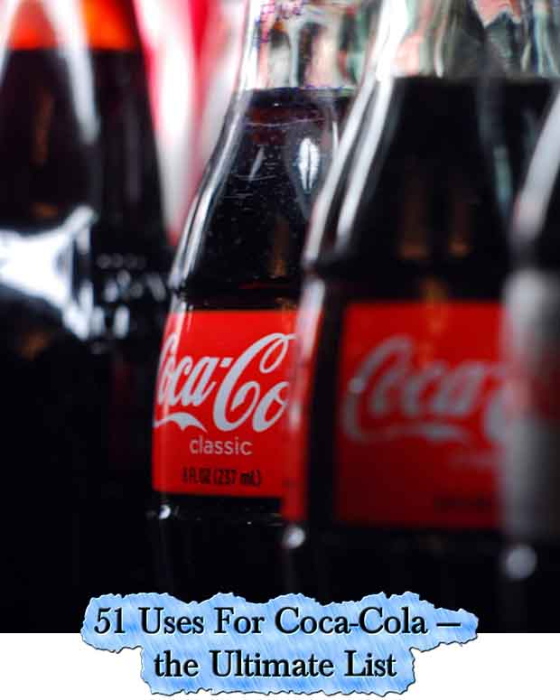 51 uses for coca cola the ultimate list lil moo creations. Black Bedroom Furniture Sets. Home Design Ideas