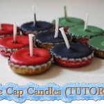 Bottle Cap Candles (TUTORIAL)