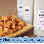 Tasty Homemade Cheese Crackers