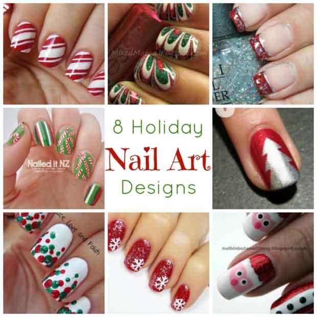 Holiday Nail Art Designs - Lil Moo Creations