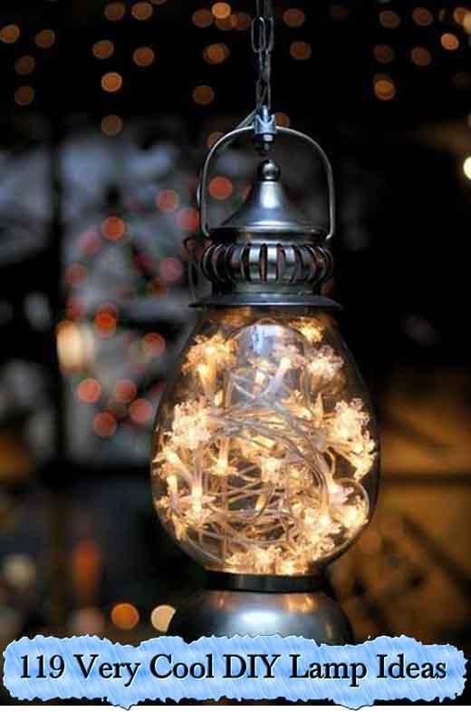 119 Very Cool Diy Lamp Ideas Lil Moo Creations