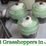 Mini Grasshoppers in Jars