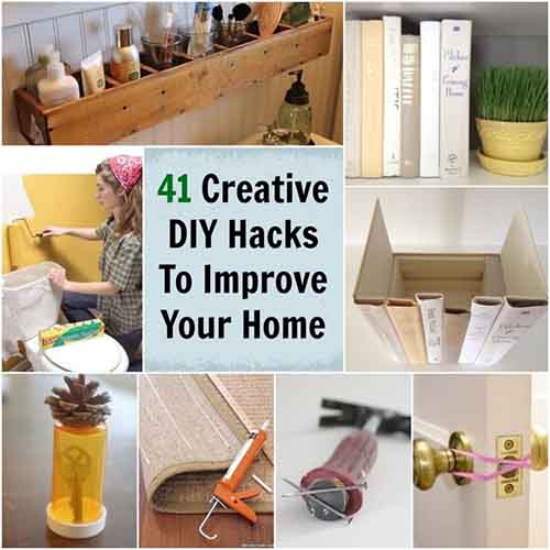 41 Creative Diy Hacks To Improve Your Home Lil Moo Creations
