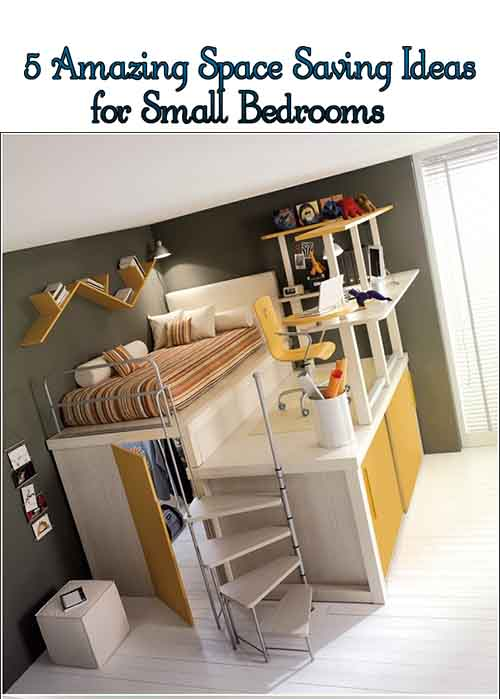 5 amazing space saving ideas for small bedrooms lil moo - Space saving ideas for small bedrooms ...