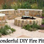 40 Wonderful DIY Fire Pit Ideas