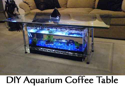 DIY Aquarium Coffee Table Lil Moo Creations