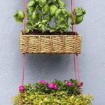 DIY Garden Hanging Basket