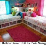 How to Build a Corner Unit for Twin Storage Beds