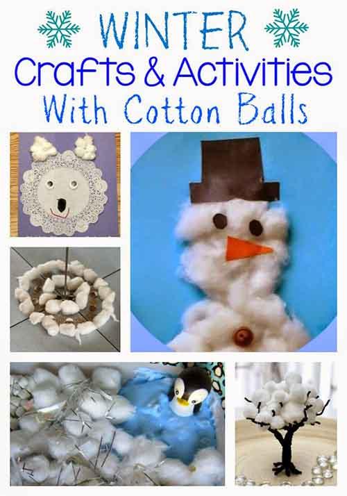 winter-crafts-cotton-balls