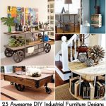 23 Awesome DIY Industrial Furniture Designs
