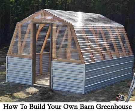 How To Build Your Own Barn Greenhouse Lil Moo Creations