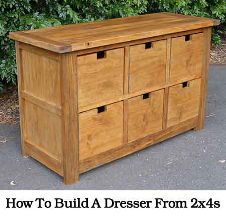 How To Build A Dresser From 2x4s Photo Credit Madeatthisplace