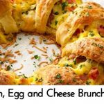 Bacon, Egg and Cheese Brunch Ring
