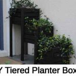 DIY Tiered Planter Boxes