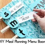 DIY Meal Planning Menu Board