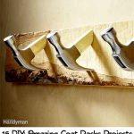15 DIY: Amazing Coat Racks Projects