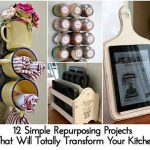 12 Simple Repurposing Projects That Will Totally Transform Your Kitchen