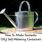How To Make Fantastic DIY Self-Watering Containers