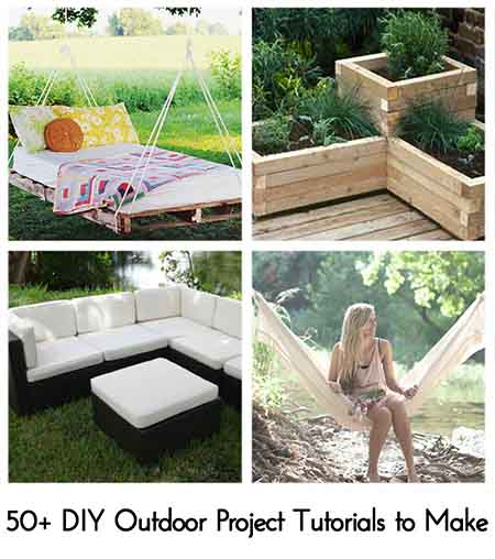 The Best Garden Ideas And Diy Yard Projects: 50+ DIY Outdoor Project Tutorials To Make