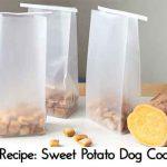 Pet Recipe: Sweet Potato Dog Cookies