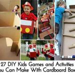 27 DIY Kids Games and Activities You Can Make With Cardboard Boxes