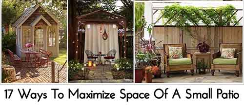 17 Ways To Maximize Space Of A Small Patio Lil Moo Creations