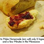 How to Make Homemade Jam with only 2 Ingredients and a few Minutes in the Microwave