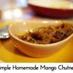 Simple Homemade Mango Chutney