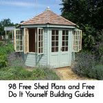 98 Free Shed Plans and Free Do It Yourself Building Guides