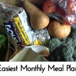Easiest Monthly Meal Plan